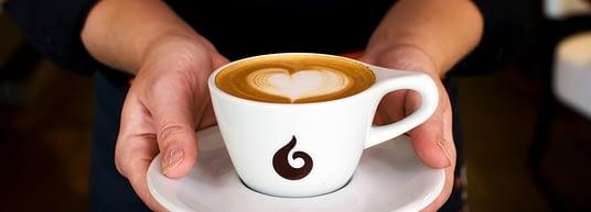 Doppio Espresso koffie aub