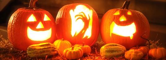 Pompoenen Halloween
