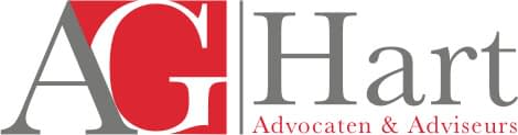 Logo AG Hart Advocaten in Franchise