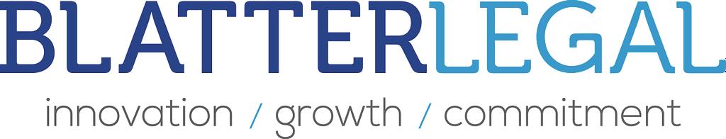 Logo franchise advocaten Blatter