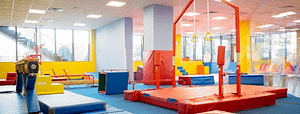 Trainingsruimte van franchiseformule The Little Gym