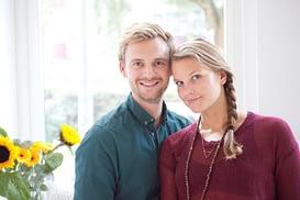 Foto Ruben en Viki van Tula Yoga