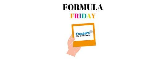 Formula Friday voor FreshPC
