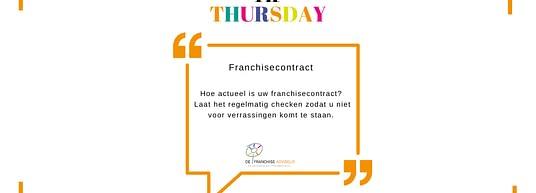 tip Thursday franchise documenten