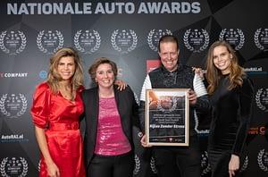 Awards uitreiking aan franchiseformule Rijles zonder Stress
