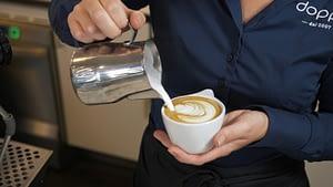 Heerlijk kopje koffie van Doppio